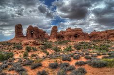 Arches NP VIII USA - HDR Photo  by fredzhang