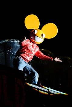 DJ Deadmau5 and Nokia Lumia music and lights event by Nokia UK, via Flickr