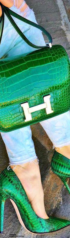Hermes Bag & Jimmy Choos