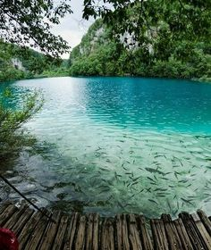 Christian Kober - Turquoise Lake, Plitvice Lakes National Park, Unesco World Heritage Site, Croatia Places Around The World, The Places Youll Go, Places To See, Around The Worlds, Dream Vacations, Vacation Spots, Beautiful World, Beautiful Places, Amazing Places