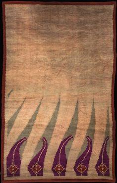 Akseli Gallen-Kallela (1865-1931) Flame Rug, c.1906, Wool Weaving - 340 x 190 cm  Paris, Musée d'Orsay