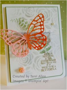 Butterfly Basics and the Artisan Embellishment Kit, Occasions 2015, Stampin' Up!