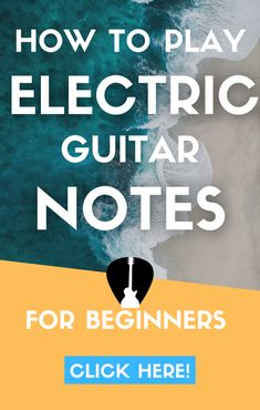 Discover how to play notes on electric guitar for beginners. Complete guide to the best technique to play notes & riffs, with penatonic scale alternate picking exercises too. #guitar #music Easy Guitar Songs, Guitar Tips, Lead Guitar Lessons, Beginner Electric Guitar, Guitar Notes, Guitar For Beginners, Playing Guitar, Exercises, Porn