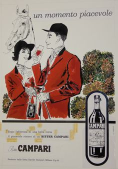 Campari vintage poster