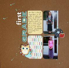 First Grade - Scrapbook.com