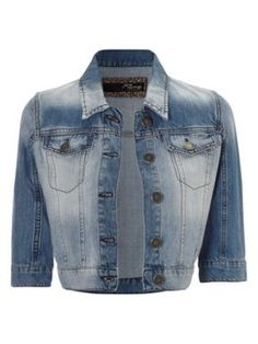 Jane Norman Denim western jacket - Would look lovely with a pretty summer dress