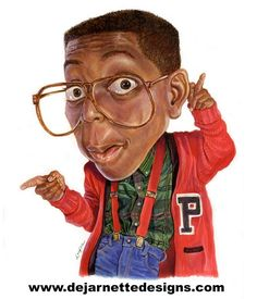 Urkel  FOLLOW THIS BOARD FOR GREAT CARICATURES OR ANY OF OUR OTHER CARICATURE BOARDS. WE HAVE A FEW SEPERATED BY THINGS LIKE ACTORS, MUSICIANS, POLITICS. SPORTS AND MORE...CHECK 'EM OUT!! Anthony Contorno Sr