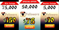 Buy Instagram Followers and Likes $5 per 1000 Followers : https://www.youtubebulkviews.com/buy-instagram-followers.html