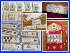 winter math and literacy work stations for kindergarten