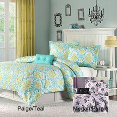 Mizone Paige/Megan 4-piece Comforter Set