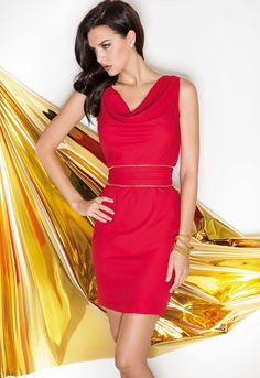 #moda #fashion #cabotine #essential #dresses #red