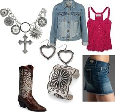 """Western Charm"" by idahocowgirl on Polyvore"