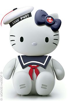 Ghostbusters | Community Post: 18 Pop Culture Hello Kitties That Need To Exist