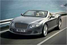 2012 Bentley Continental GTC    its been my dream car since I as 8 years old.