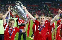 Kings of Europe! FC Bayern München!  FC Bayern, Stern des Südens, du wirst niemals unter geh'n!!!!