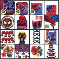 Spiderman Birthday Party Supplies Celebration | Birthday Party Ideas 2015