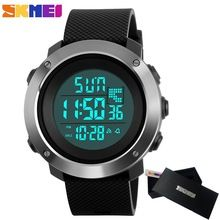 8b7ea0e159d 2017 Skmei Men s Fashion Sport Watches Men Digital LED electronic Clock Man  Military Waterproof Watch Women