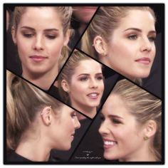 Emily Bett Rickards #Arrow #SDCC Love her character and her bar piercing!