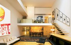 #NYC #apartment   10,000 sq. ft., On sale for $38.5 Million by photographer Gunter Sachs