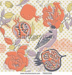 Find Floral Seamless Pattern Bird Pomegranate stock images in HD and millions of other royalty-free stock photos, illustrations and vectors in the Shutterstock collection. Thousands of new, high-quality pictures added every day. Pomegranate, Royalty Free Stock Photos, Bird, Colour, Illustration, Floral, Pattern, Color, Granada