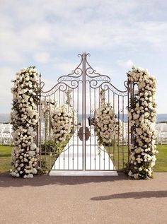 Gate to my wedding !
