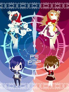 Tags: Shin Megami Tensei: PERSONA 3, Yuuki Makoto (Persona 3), Female Protagonist (Persona 3), Artist Request