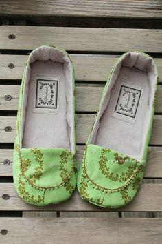 Radella Women Shoes PDF Pattern