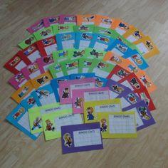 Stíratelné tabulky - Bingo Bingo, Education, Onderwijs, Learning