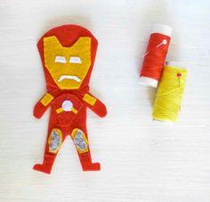 "Pupazzetto ""Ironman"""
