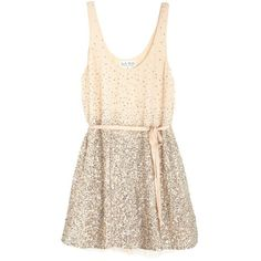 Arkendale Sequin Dress (5.220 ARS) ❤ liked on Polyvore featuring dresses, vestidos, short dresses, tops, women, christmas cocktail dresses, silk dress, pink cocktail dress, silk camisole and pink mini dress