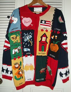 A very gorgeous ugly sweater!