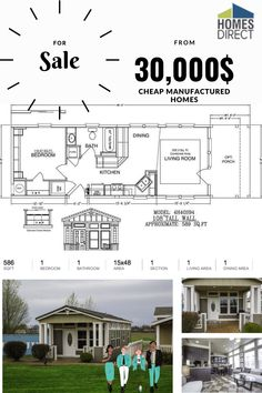 You can browse through our catalog of available homes and floorplans with a price range from $30k to $80k. As well you can adjust price range to your preferences. Cheap Mobile Homes, Mobile Homes For Sale, Palm Harbor Homes, Modular Homes, Tiny House Design, Deco, Square Feet, Dining Area, Catalog
