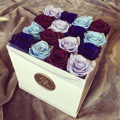 The ultimate gift. Roses that last one year! Available in many colors online. Give the stamp of luxury.  #rosesinabox #boxofroses #luxuryroses #flowerbox #rosebox #bluerose #purpleroses #lilacroses #babybluerose #luxurylife #theperfectgift #mothersday #relationshipgoals #hudabeauty #kyliejenner #amrezy #kimkardashian #gigihadid #bellahadid #selenagomez