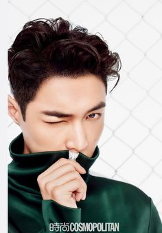 EXO's Lay gives 'Fantasy Football' a whole new meaning in China's 'Cosmopolitan' + making film! Chanyeol, Kyungsoo, Sehun Oh, Yixing Exo, Lay Exo, K Pop, Pop Bands, 2ne1, Btob