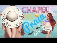 (8) DIY: Chapéu de Praia Personalizado das Blogueiras | Vânia Maciel - YouTube Ideias Diy, Crochet, Bikinis, Inspiration, Coffin, Youtube, Fashion, Beach Playsuit, Beachwear Fashion