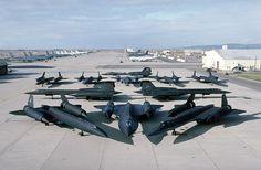 LOCKHEED SR-71 BLACKBIRDS
