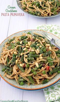 Green Goddess Pasta Primavera