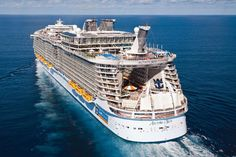 Best cruise for can't-sit-still types: Royal Carribean's Allure Of The Seas