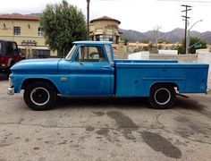 Ol bluey the pacific coast locators first service truck ... Throwback to when we first got started ...