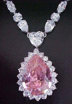 pink diamond necklaces: Pink Diamond Necklaces designs