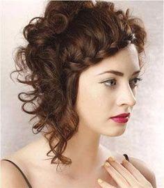 peinados y recogidos para una boda para pelo largo liso y rizado fotos