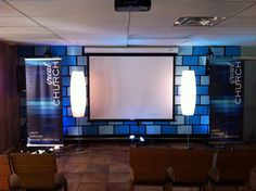 71 best church stage backdrops images church stage design church rh pinterest com