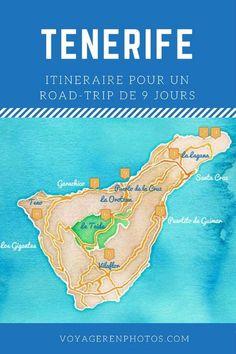 Itinéraire de 9 jours pour découvrir l'île de Tenerife : randonnées et découverte du patrimoine de l'ile, les plus beaux villages, le Teide...