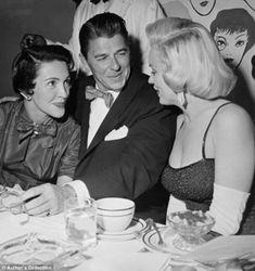 Ronald & Nancy Reagan, Marilyn Monroe