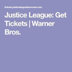 Justice League: Get Tickets | Warner Bros.