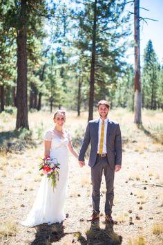 mikaela and kyle | Elisa Wedding Gown by Badgley Mischka for @BHLDN | joe tobiason photography | #BHLDNbride