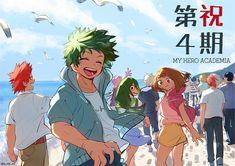 See You Next Season! by 亜ねず : BokuNoHeroAcademia My Hero Academia, Fullmetal Alchemist, Kawaii, Tsuyu Asui, Mirai Nikki, Boko No, Boku No Hero Academy, Tokyo Ghoul, Chicas Anime