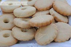 Galletas de nata Biscuit Cookies, Sugar Cookies, Cookie Dough, My Recipes, Sweet Recipes, Cookie Recipes, Mantecaditos, Bread Machine Recipes, Dessert Decoration