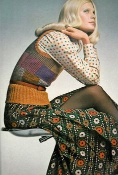 Lategan for Vogue UK, 1971.