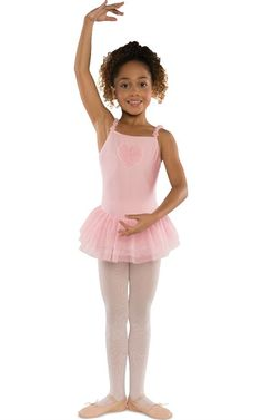 For the little ballerinas - Pink Dress Heart Ruffle by Danshuz. Price was $51 and is now $25 at Ozsale.